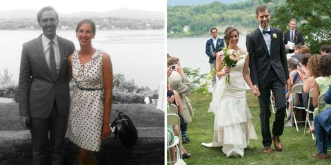 wore white to friend's wedding lead