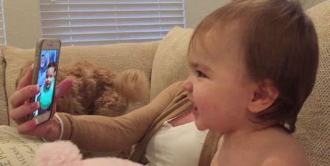 Ear, Human, Cheek, Skin, Eyebrow, Mammal, Window covering, Child, Window blind, Communication Device,