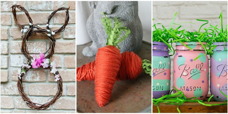 Easter crafts you can make using stuff from the dollar store theres no need to shell out a fortune for ready made easter decorations with a few inexpensive supplies and a little creativity even the least crafty negle Images