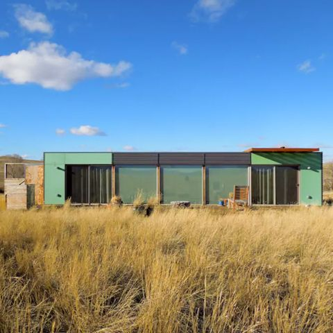 Shipping Container House - Livingston Montana