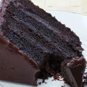 Food, Cuisine, Sweetness, Dessert, Baked goods, Chocolate cake, Chocolate, Dish, Cake, Recipe,