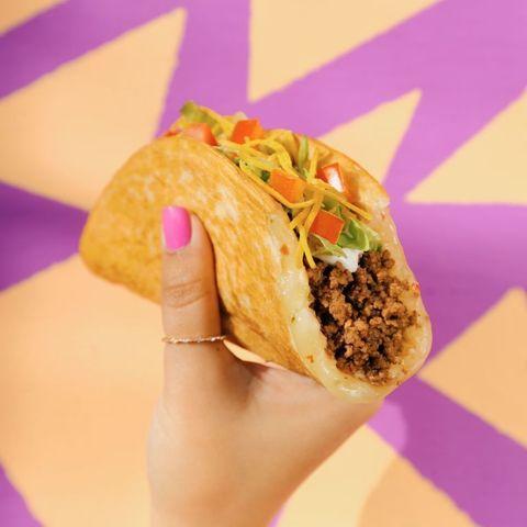 Finger food, Cuisine, Food, Ingredient, Dish, Baked goods, Recipe, Purple, Fast food, Snack,