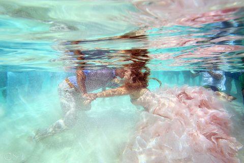 Water, Blue, Aqua, Turquoise, Underwater, Sky, Swimming pool, Swimmer, Fun, Recreation,