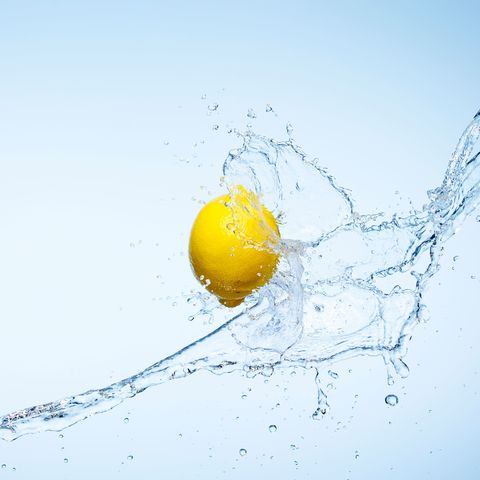 how to get rid of bloated stomach lemon