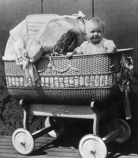 "<p>Moms-to-be of the 1910s were told that in order to have a beautiful baby (like this cute little one!), they must <a href=""http://www.slate.com/articles/double_x/doublex/2012/11/bad_baby_advice_a_history.html"" target=""_blank"" data-tracking-id=""recirc-text-link"">refrain from thinking of ugly things</a>. </p><p><a href=""http://www.goodhousekeeping.com/life/news/a42950/baby-emil-sees-mother-first-time/"" target=""_blank"" data-tracking-id=""recirc-text-link""><em data-redactor-tag=""em"" data-verified=""redactor"">Watch a baby see the most beautiful sight for the first time in its life »</em></a></p>"