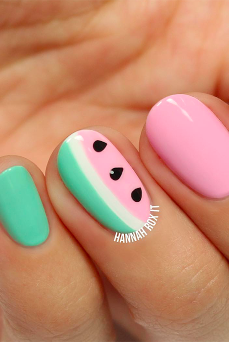 20+ Cute Summer Nail Design Ideas - Best Summer Nails of 2017