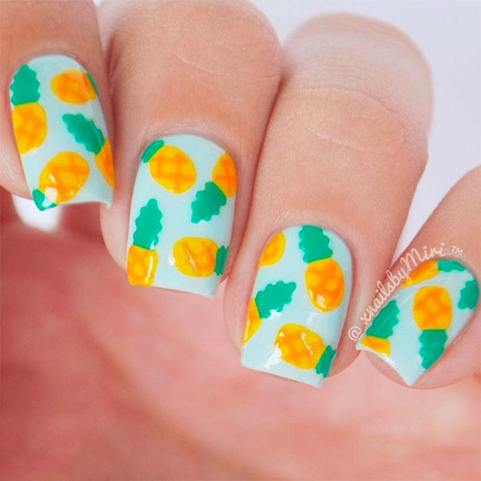 - 20+ Cute Summer Nail Design Ideas - Best Summer Nails Of 2017