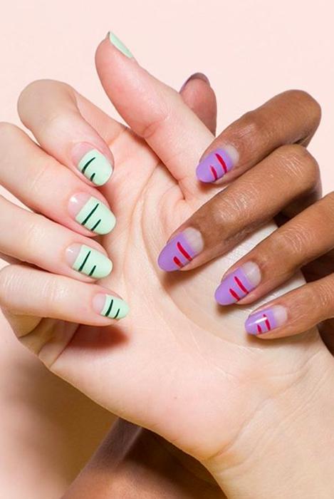 summer nail art - 20+ Cute Summer Nail Design Ideas - Best Summer Nails Of 2017