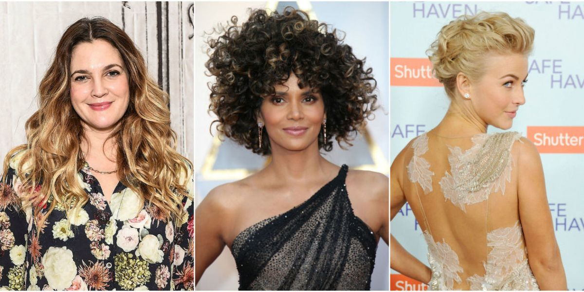 Medium Hairstyles For Curly Hair Girls 28