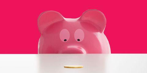 Red, Pink, Magenta, Suidae, Snout, Carmine, Domestic pig, Livestock, Piggy bank, Saving,