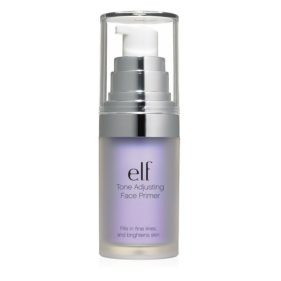 "<p>A lavender makeup primer puts the kibosh on yellow or orange-y undertones in your complexion. ""Mix a drop in with your dollop of BB cream or foundation,"" says makeup artist Grace Lee, who works with Taylor Schilling. ""Or you can wear the primer alone on bare skin — just really blend it in well."" <span>We like E.l.f. Mineral Infused Face Primer in Brightening Lavender ($6; <a href=""http://www.elfcosmetics.com/p/mineral-face-primer?gclid=CLHa0Zji_tICFduEswodoSUCkg"" target=""_blank"" data-tracking-id=""recirc-text-link"">elfcosmetics.com</a>).</span></p>"