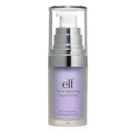 "<p>A lavender makeup primer puts the kibosh on yellow or orange-y undertones in your complexion. ""Mix a drop in with your dollop of BB cream or foundation,"" says makeup artist Grace Lee, who works with Taylor Schilling. ""Or you can wear the primer alone on bare skin&nbsp;—&nbsp;just really blend it in well.""&nbsp;<span>We like E.l.f. Mineral Infused Face Primer in Brightening Lavender ($6; <a href=""http://www.elfcosmetics.com/p/mineral-face-primer?gclid=CLHa0Zji_tICFduEswodoSUCkg"" target=""_blank"" data-tracking-id=""recirc-text-link"">elfcosmetics.com</a>).</span></p>"