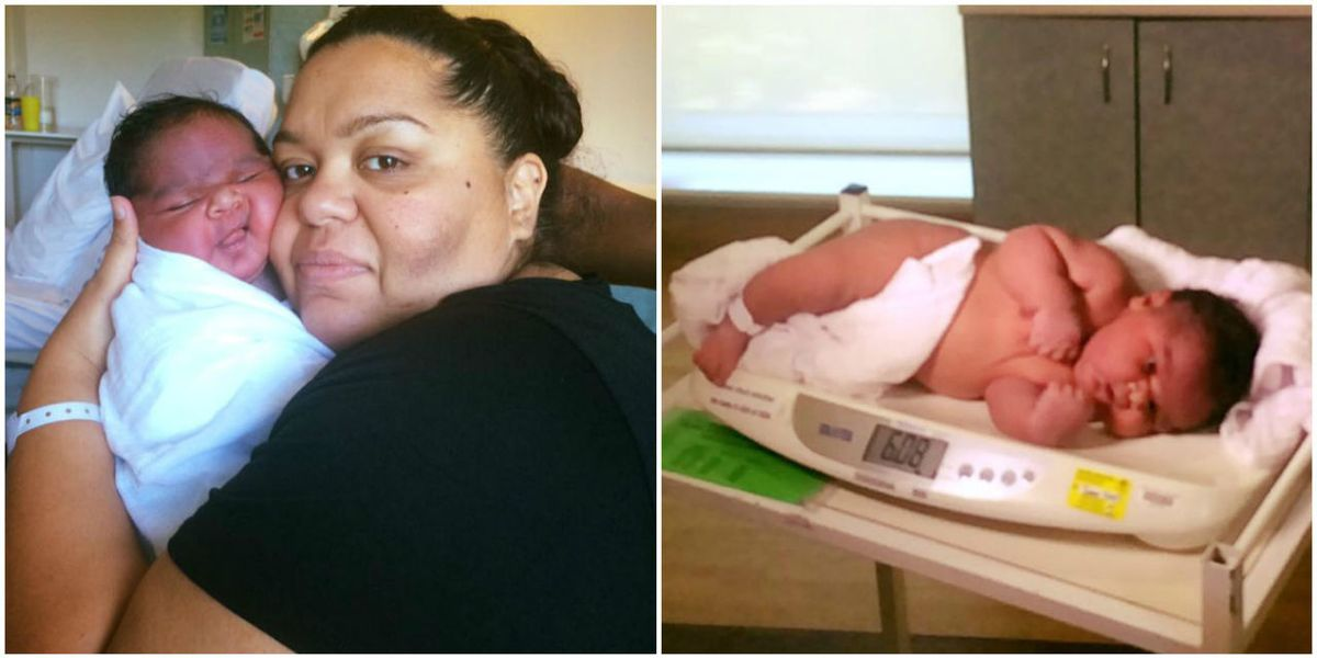 Woman Gives Birth Naturally To Nearly 14-Pound Baby-6274