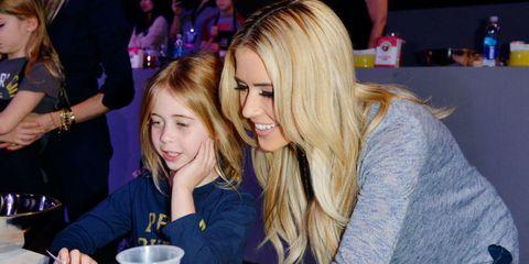 christina el moussa and daughter