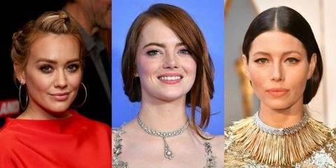 updo celebrity hairstyles