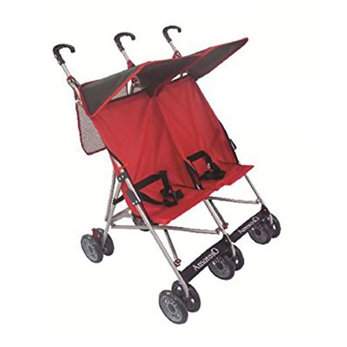 Amoroso Double Stroller