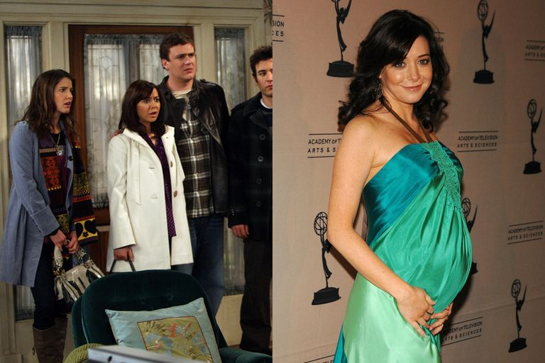 celebrities who hid their pregnancies onscreen  tv