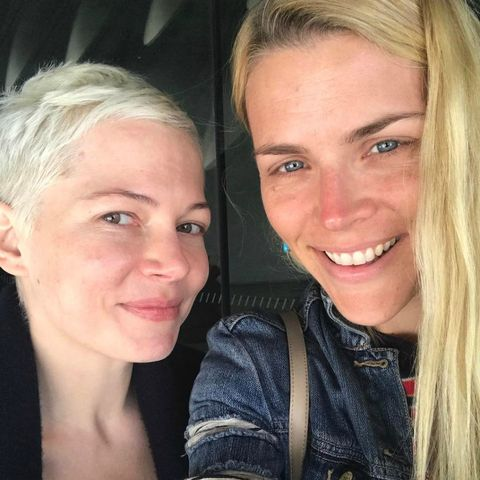 busy philipps michelle williams no makeup