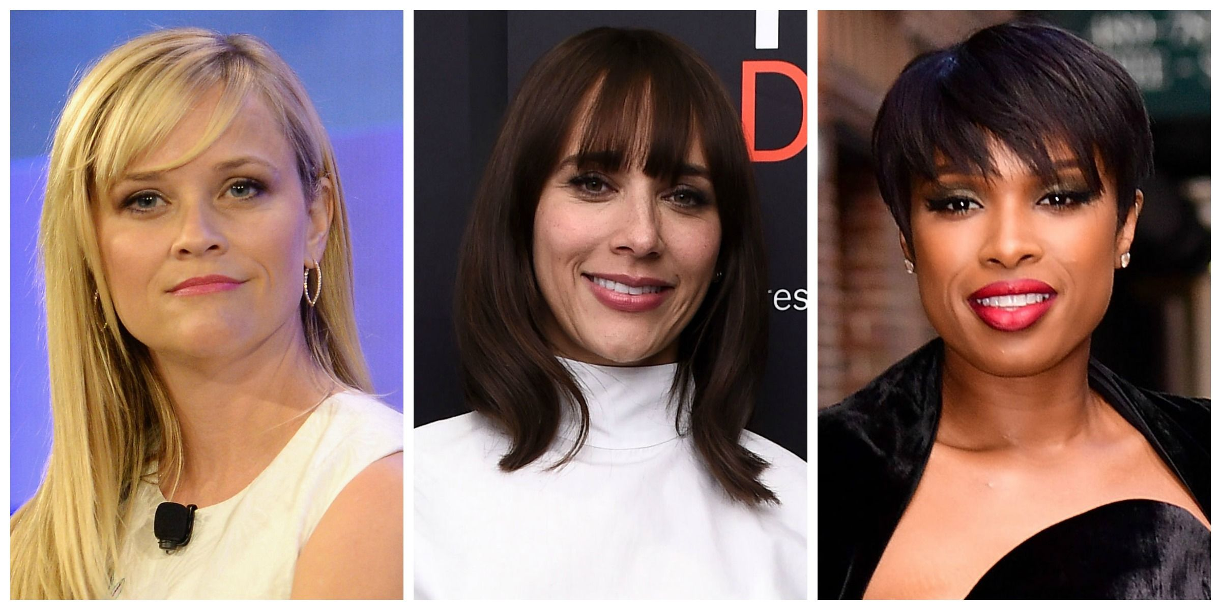 How To Style Hair With Bangs
