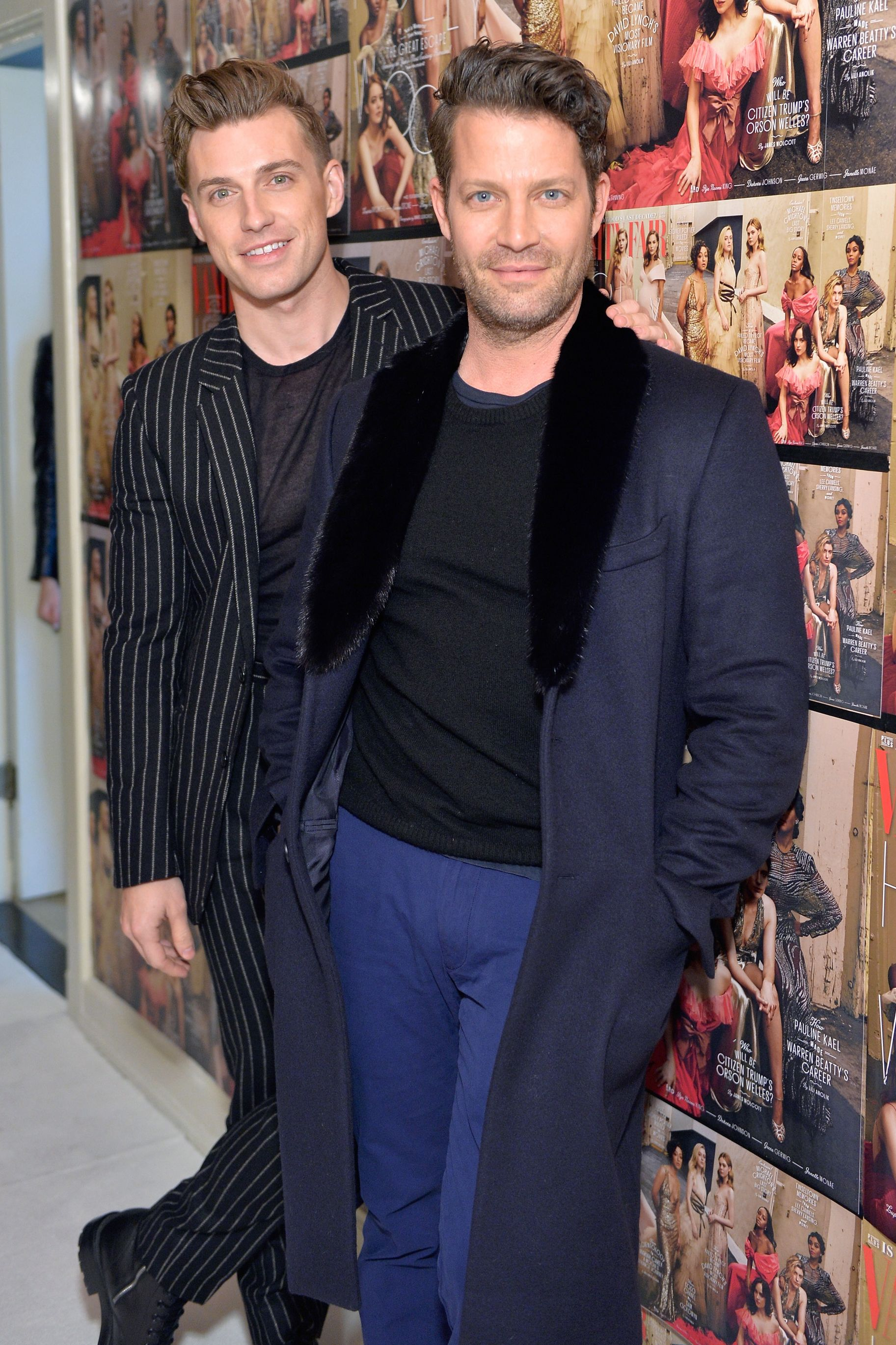 Jeremiah Brent and Nate Berkus The interior designer husbands (and dads to daughter Poppy) look like older and younger versions of the same man. ( Berkus is 46 years old, if you can believe it.