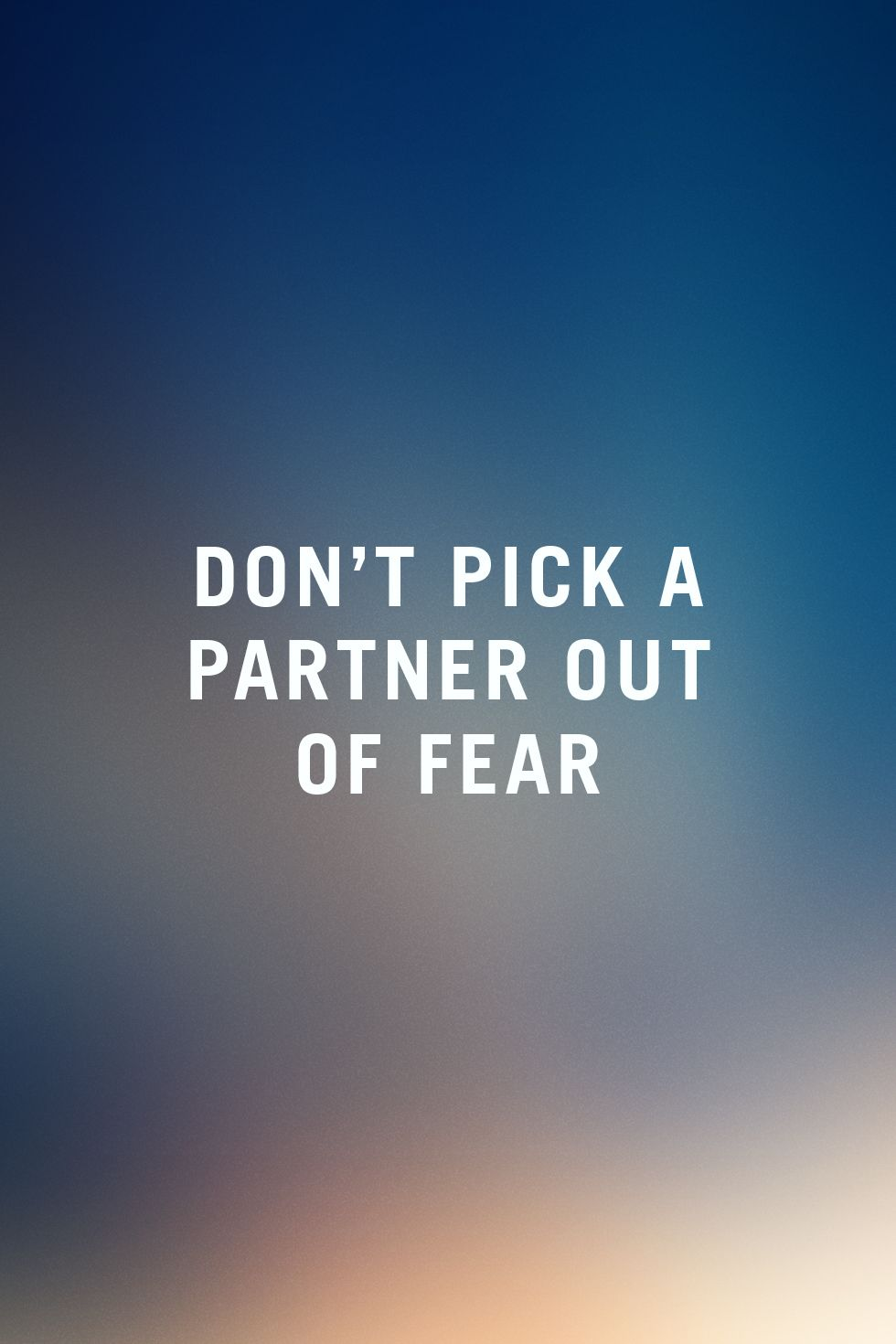 codependent behavior deals mostly with this basic fear