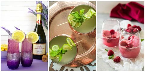 champagne cocktails better than mimosas bubbly champagne drink recipes