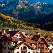 Natural landscape, Nature, Hill station, Landmark, Mountain range, Property, Mountainous landforms, Mountain, Alps, Mountain village,