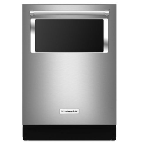 "KitchenAid KDTM804ESS 24"" Top Control Built-In Dishwasher - Stainless Steel 2017 - 2018"