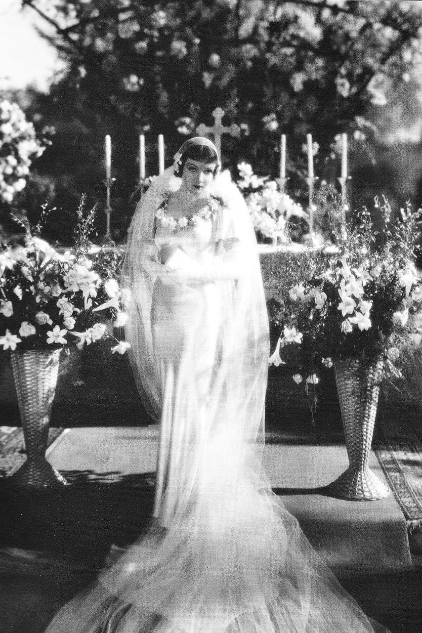 iconic film wedding dress