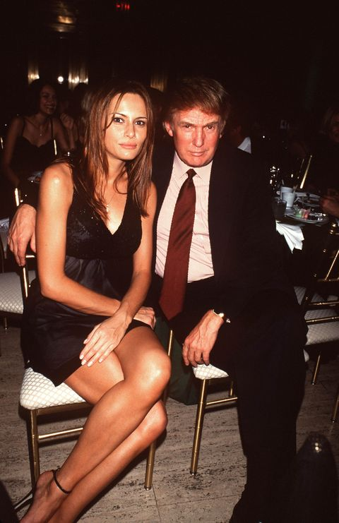 Donald and Melania in 1999