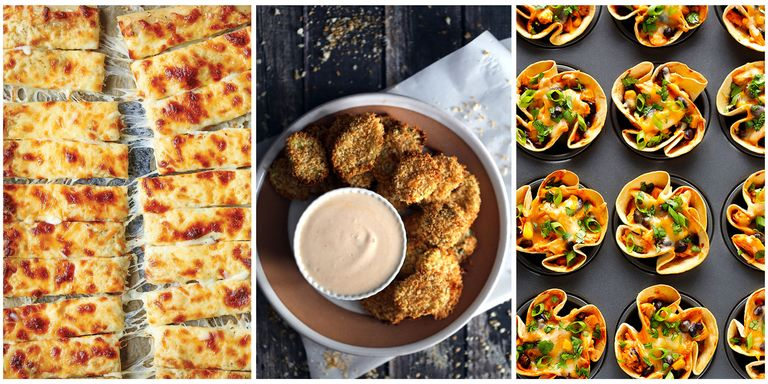 35 party food recipes best party foods these crowd thrilling party foods are simple to make and tasty guests will think you slaved hours over them pick three recipes and round em out with a forumfinder Images