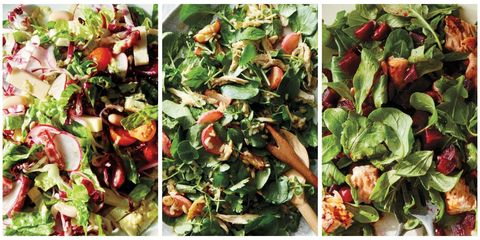 Salad, Food, Leaf vegetable, Vegetable, Ingredient, Produce, Natural foods, Whole food, Herb, Cuisine,