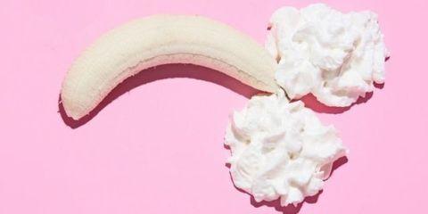 Pink, Buttercream, Cream, Food, Whipped cream, Dairy, Cuisine, Dessert,