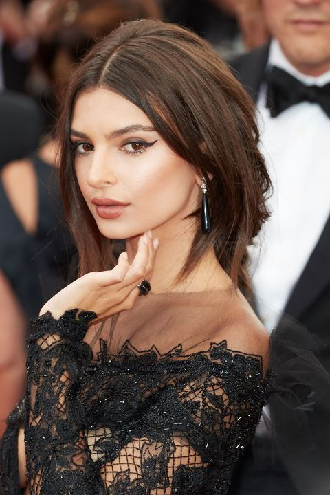 "<p><a href=""http://www.marieclaire.com/celebrity/news/a25383/emily-ratajkowski-melania-slut-shaming/"" target=""_blank"" data-tracking-id=""recirc-text-link"">Emily Ratajkowski's</a> version of dark brown&nbsp;gets multidimensional&nbsp;with lighter brown highlights, making a simple color twice as chic.&nbsp;&nbsp;</p><p><strong data-redactor-tag=""strong"" data-verified=""redactor"">RELATED: </strong><a href=""http://www.redbookmag.com/beauty/hair/advice/g653/thick-hair-how-to-hairstyles/"" target=""_blank"" data-tracking-id=""recirc-text-link""><strong data-redactor-tag=""strong"" data-verified=""redactor"">The 30 Best Styles for Women With Thick Hair</strong></a></p>"