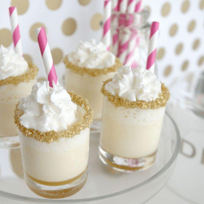 Phenomenal 24 Easy Mini Dessert Recipes Delicious Shot Glass Desserts Funny Birthday Cards Online Necthendildamsfinfo