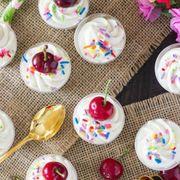 Food, Cuisine, Dessert, Dish, Milkshake, Frozen dessert, Ingredient, Parfait, Frappé coffee, Verrine,