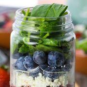 Produce, Food, Ingredient, Food storage containers, Mason jar, Recipe, Vegan nutrition, Food storage, Vegetable, Whole food,