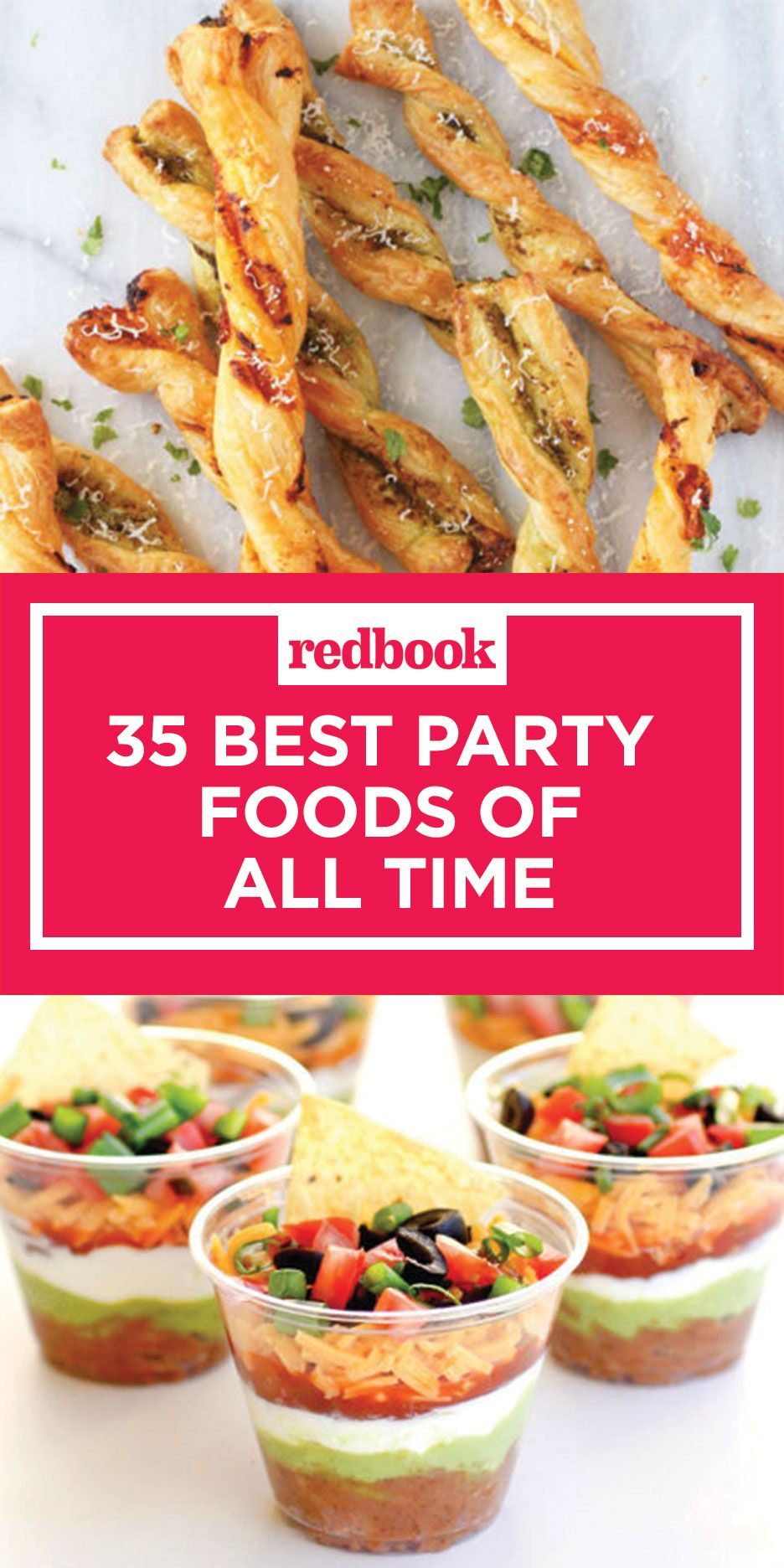 35 party food recipes - best party foods