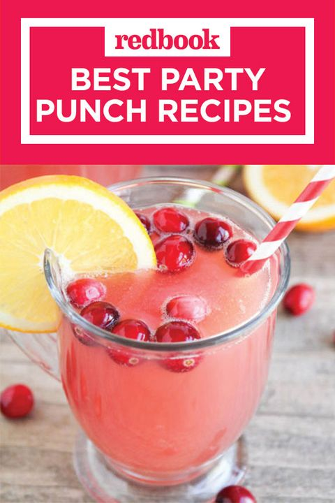 Don T Forget To Pin These Punch Ideas For Your Next Get Together And Follow Redbook On Pinterest More Inspiration