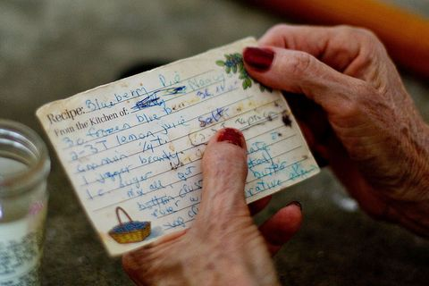 <p>It's incredibly convenient to search for recipes digitally any time you need them. But it it's much nicer to use a card your mom or friend wrote out for you.</p>