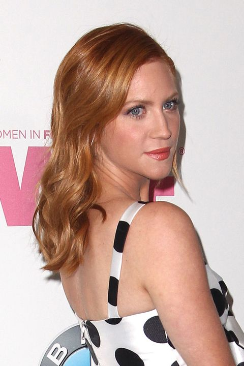 Brittany Snow Copper Red Hair