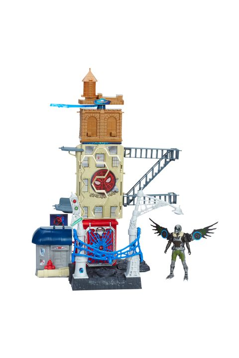 "<p>$45</p><p><a href=""https://www.amazon.com/Spider-Man-Homecoming-Vulture-Attack-Set/dp/B01IK523II?tag=goodhousekeeping_auto-append-20"" target=""_blank"" class=""slide-buy--button"" data-tracking-id=""recirc-text-link"">BUY NOW</a></p><p>Help Spider-Man defeat Vulture in this Queens, New York, street scene playset that lets kids play out the battle&nbsp;however they imagine.</p><p><em data-redactor-tag=""em"" data-verified=""redactor"">For ages 4 and up</em></p>"