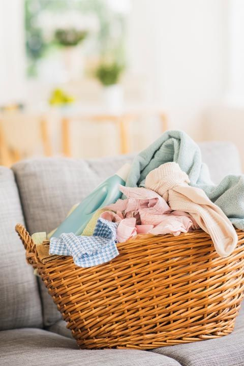 """<p>We know, it's most people's <a href=""""http://www.goodhousekeeping.com/home/cleaning/tips/g2872/easy-laundry-tips/"""" target=""""_blank"""">least favorite chore </a><em data-redactor-tag=""""em""""><a href=""""http://www.goodhousekeeping.com/home/cleaning/tips/g2872/easy-laundry-tips/"""">ever</a></em>. But to prevent piles of items you've deemed dirty (here's <a href=""""http://www.goodhousekeeping.com/home/cleaning/a37480/how-often-you-should-wash-everything/"""" target=""""_blank"""" data-tracking-id=""""recirc-text-link"""">our helpful guide</a>) from growing into an intimidating tower, it's best to tackle this weekly. <span data-redactor-tag=""""span"""" data-verified=""""redactor""""></span> </p><p><span data-redactor-tag=""""span"""" data-verified=""""redactor""""></span></p>"""