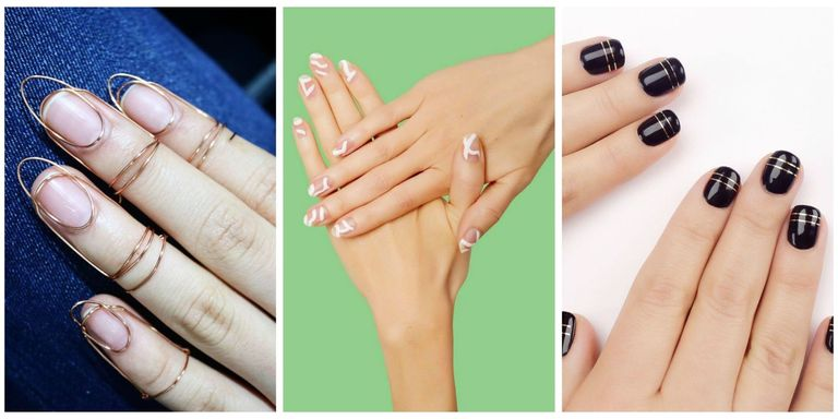 dont be afraid to step out of your nail design comfort zone manicures are only temporary after all - Nail Design Ideas