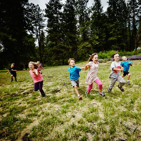 "<p>As a kid, Tanya Altmann, M.D., author of&nbsp&#x3B;<em data-redactor-tag=""em"">What to Feed Your Baby</em>, spent the Fourth of July with her extended family — and under the Independence Day sun, the group split up into teams for a field day. ""When I had my own children, I revamped this tradition,"" she says, ""and the whole family loved playing along. If Grandpa just wanted to hit the ball, a grandchild ran the bases for him."" Choose team colors and compete in baseball games, hula hoop contests, or three-legged races.</p><p><strong data-verified=""redactor"" data-redactor-tag=""strong"">RELATED:&nbsp&#x3B;<a href=""http://www.redbookmag.com/food-recipes/entertaining/features/g3307/picnic-ideas/"" target=""_blank"" data-tracking-id=""recirc-text-link"">30 Brilliant Picnic Hacks You Need to Know This Summer</a><span class=""redactor-invisible-space""><a href=""http://www.redbookmag.com/food-recipes/entertaining/features/g3307/picnic-ideas/""></a></span></strong><br></p>"