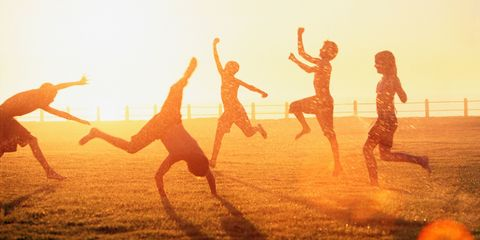 Fun, People on beach, Happy, Rejoicing, People in nature, Summer, Sunlight, Youth, Friendship, Morning,