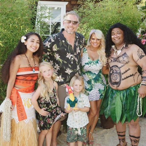 """<p>Jessica Simpson went all out for her son's <em data-redactor-tag=""""em"""">Moana-</em>themed fourth birthday party. </p>"""