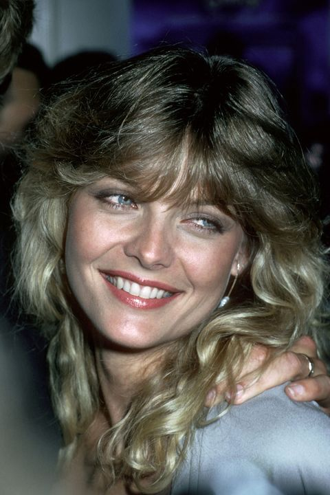 "<p>If Michelle Pfeiffer's layered, fanned-out bangs don't give you serious <em data-redactor-tag=""em"">Grease 2 </em>vibes, nothing will. </p>"