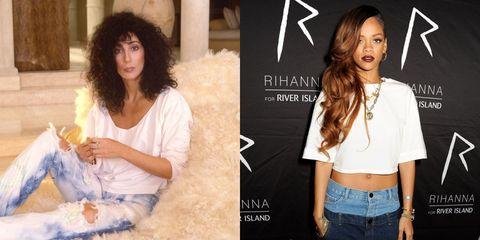Hair, Clothing, Jeans, Hairstyle, Denim, Beauty, Shoulder, Fashion, Long hair, Textile,