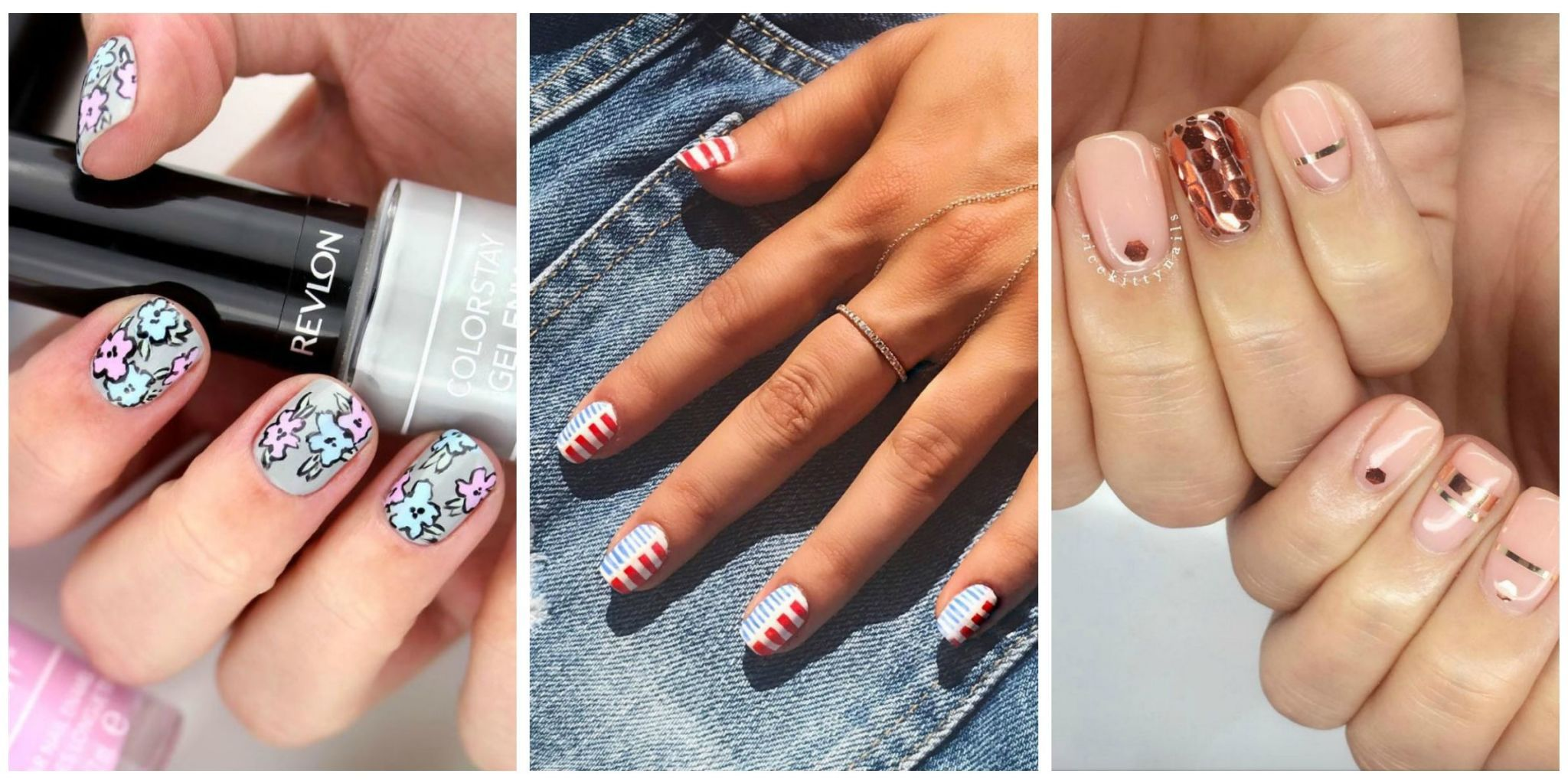 Stock up on new polish now because youu0027re going to want to master and show off these nail designs ... & 20+ Cute Summer Nail Design Ideas - Best Summer Nails of 2017